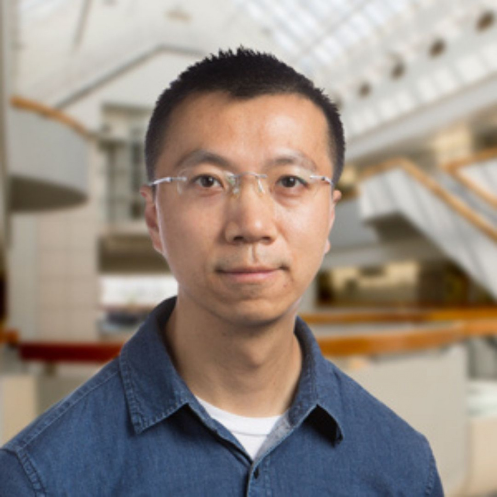 Dr. Peng Wu 2020 Award winner